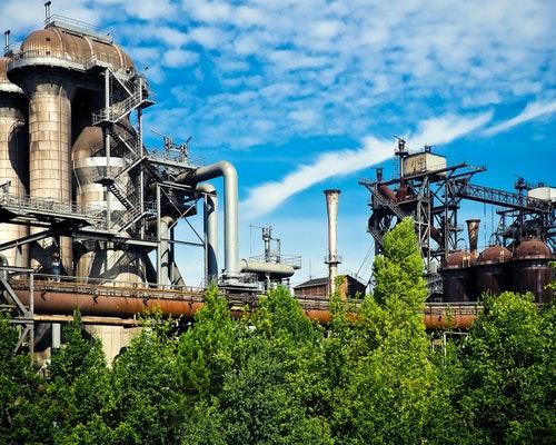 中国钢铁行业分析_石化行业